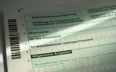 Déclaration de revenus en Allemagne